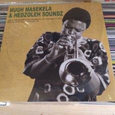 Discos de vinilo: HUGH MASEKELA & HEDZOLEH SOUNDZ. LIVE AT THE RECORD PLANT (SAUSALITO 1974) DOBLE LP VINILO PRECINTA. Lote 266913339
