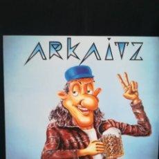 Discos de vinilo: LP ARKAITZ - ZUENZAT (LP, INS), 1991 ROCK EUSKERA. Lote 266914374