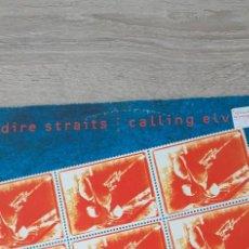 Discos de vinilo: DIRE STRAITS CALLING ELVIS + 2. Lote 266935109