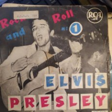 Discos de vinil: ELVIS PRESLEY: ROCK AND ROLL NO 1, ED FRANCIA RCA 75319 HOUND DOG + 3 EP. Lote 266937374