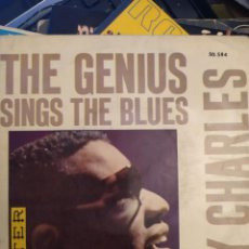 Discos de vinilo: RAY CHARLES: THE GENIUS SINGS THE BLUES, ED ESPAÑA BELTER EP, 1962. Lote 266940194
