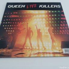 Discos de vinilo: DOBLE VINILO EDICIÓN JAPONESA DEL LP DE QUEEN LIVE KILLERS. Lote 266940619