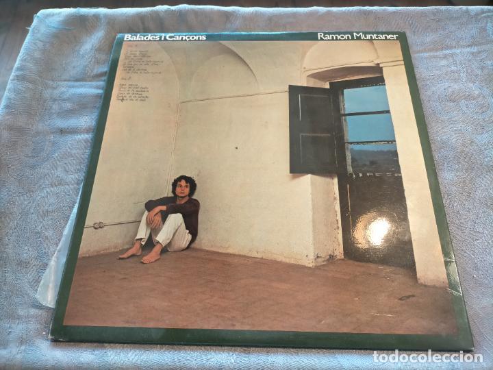 Discos de vinilo: Disco vinilo LP Ramon Muntaner Balades i Cançons 1979 - Foto 3 - 266949874
