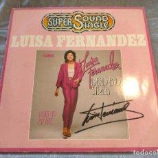 Discos de vinilo: DISCO VINILO LUISA FERNANDEZ SUPER SOUND SINGLE DEAD END STREET LIGHT UP MY LIFE 1979. Lote 266950519