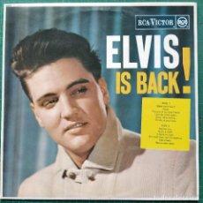 Disques de vinyle: ELVIS PRESLEY - ELVIS IS BACK! (LP, ALBUM) (RCA VICTOR) SF 5060 (1971/UK). Lote 266954934