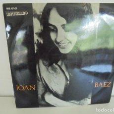Discos de vinilo: JOAN BAEZ. LP VINILO. HISPAVOX. VER FOTOGRAFIAS ADJUNTAS.. Lote 266969814