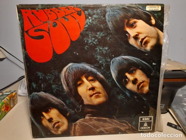 LP BEATLES : RUBBER SOUL ( EDICION ESPAÑA, 1966 ) (Música - Discos - LP Vinilo - Pop - Rock Internacional de los 50 y 60)