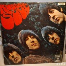 Discos de vinilo: LP BEATLES : RUBBER SOUL ( EDICION ESPAÑA, 1966 ). Lote 266973179
