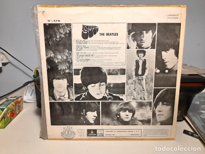 Discos de vinilo: LP BEATLES : RUBBER SOUL ( EDICION ESPAÑA, 1966 ) - Foto 2 - 266973179