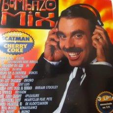 Disques de vinyle: BOMBAZO MIX- SPAIN 3 LP 1995- VINILOS EXCELENTE ESTADO.. Lote 266998144