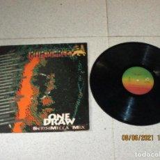 Discos de vinilo: RITA MARLEY - ONE DRAW ( SENSIMILLA MIX ) - MAXI - SPAIN - TABATA - REF TBMX 102 - IBL -. Lote 267006884