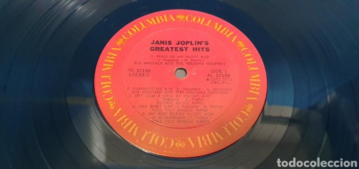 Discos de vinilo: JANIS JOPLINS - GREATEST HITS - 1973 - Foto 3 - 267007839