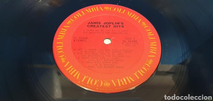 Discos de vinilo: JANIS JOPLINS - GREATEST HITS - 1973 - Foto 5 - 267007839