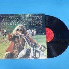 Discos de vinilo: JANIS JOPLIN'S - GREATEST HITS - 1973. Lote 267007839