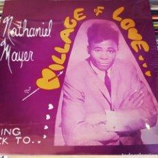 Discos de vinilo: NATHANIEL MAYER–GOING BACK TO THE VILLAGE OF LOVE. LP VINILO PRECINTADO. Lote 267008244