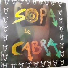 Disques de vinyle: SOPA DE CABRA - LP 1989 + ENCARTE - VINILO COMO NUEVO.. Lote 267009019