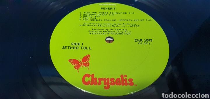 Discos de vinilo: JETHRO TULL - BENEFIT - Foto 3 - 267010249