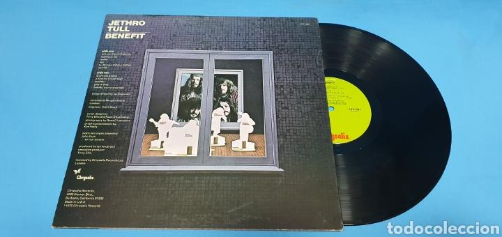 Discos de vinilo: JETHRO TULL - BENEFIT - Foto 5 - 267010249