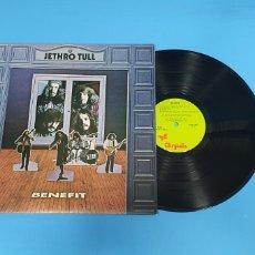 Discos de vinilo: JETHRO TULL - BENEFIT. Lote 267010249