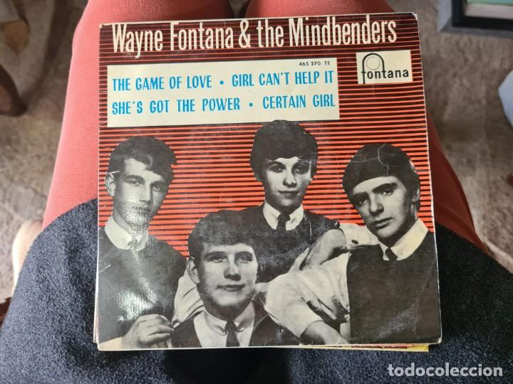 VINILO WAYNE FONTANA AND THE MINDBENDERS. THE GAME OF LOVE (Música - Discos - LP Vinilo - Otros estilos)