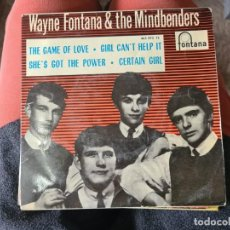 Disques de vinyle: VINILO WAYNE FONTANA AND THE MINDBENDERS. THE GAME OF LOVE. Lote 267015019