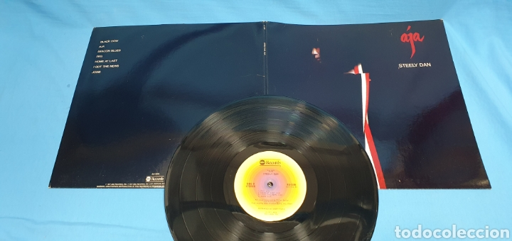 Discos de vinilo: AJÁ - STEELY DAN - 1977 - Foto 5 - 267035074