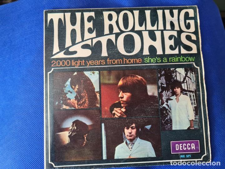VINILO THE ROLLING STONES. 2000 LIGHT YEARS FROM HOME. SHES A RAINBOW (Música - Discos - LP Vinilo - Otros estilos)