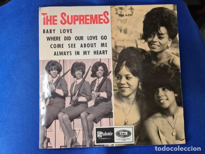 VINILO THE SUPREMES. BABY LOVE. COME SEE ABOUT ME (Música - Discos - LP Vinilo - Otros estilos)