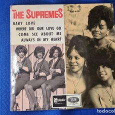 Disques de vinyle: VINILO THE SUPREMES. BABY LOVE. COME SEE ABOUT ME. Lote 267040089