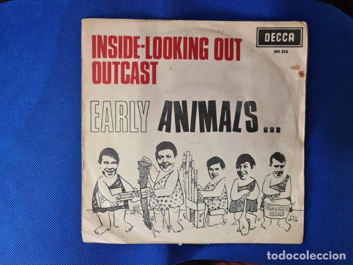VINILO THE ANIMALS. INSIDE-LOOKING OUT OUT. OUTCAST (Música - Discos - LP Vinilo - Otros estilos)