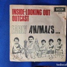 Disques de vinyle: VINILO THE ANIMALS. INSIDE-LOOKING OUT OUT. OUTCAST. Lote 267046364