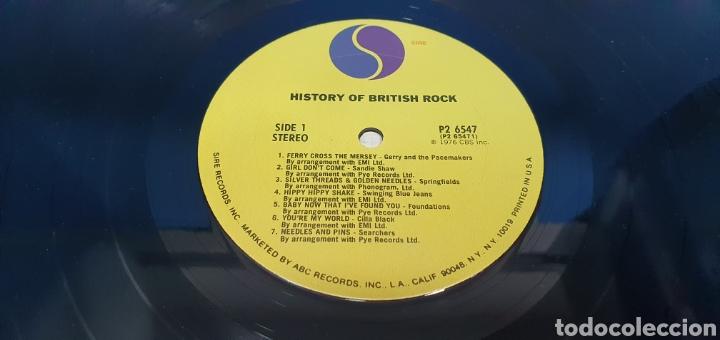 Discos de vinilo: HISTORY OF BRITISH ROCH - Foto 3 - 267051204