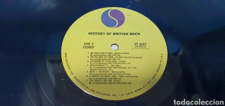 Discos de vinilo: HISTORY OF BRITISH ROCH - Foto 5 - 267051204