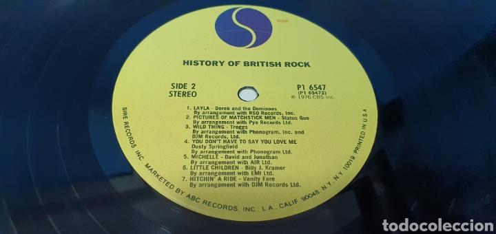 Discos de vinilo: HISTORY OF BRITISH ROCH - Foto 8 - 267051204