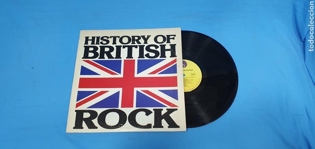 HISTORY OF BRITISH ROCH (Música - Discos - LP Vinilo - Pop - Rock - Internacional de los 70)