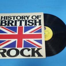 Discos de vinilo: HISTORY OF BRITISH ROCH. Lote 267051204