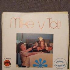 Discos de vinilo: MIKE Y TOTI: DE NATA, FRESA Y DE LIMON, LA LECCION , SG EXPLOSION 1973 ALAIN MILHAUD, MIKE KENNEDY. Lote 267051944