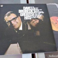 "Disques de vinyle: DAVE BRUBECK - DAVE BRUBECK'S GREATEST HITS "" LP 1970. Lote 267074204"