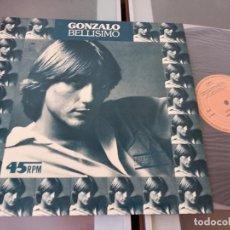 Discos de vinilo: GONZALO - BELLISIMO. Lote 267075644