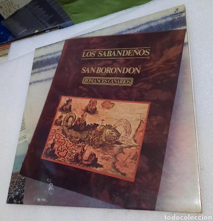 LOS SABANDEÑOS - SAN BORONDON (Música - Discos - LP Vinilo - Grupos Españoles de los 70 y 80)