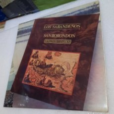Disques de vinyle: LOS SABANDEÑOS - SAN BORONDON. Lote 267079834