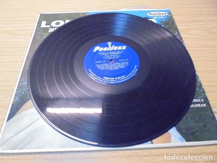 Discos de vinilo: LOLA BELTRAN DUEÑA Y SEÑORA DE LA CANCION RANCHERA. DISCOS PEERLESS. LP VINILO. - Foto 5 - 267083994