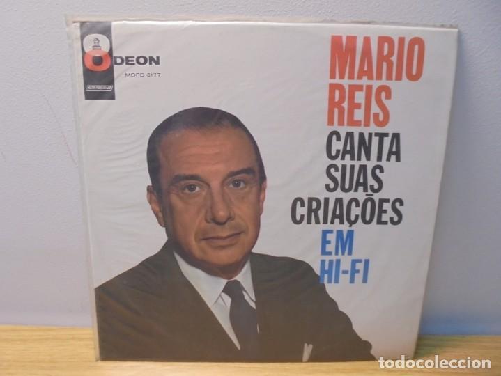 MARIO REIS CANTA SUAS CRIACOES EM HI-FI. LP VINILO. DISCOGRAFICA ODEON. (Música - Discos - LP Vinilo - Canción Francesa e Italiana)
