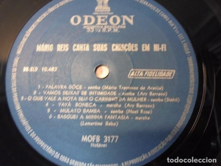 Discos de vinilo: MARIO REIS CANTA SUAS CRIACOES EM HI-FI. LP VINILO. DISCOGRAFICA ODEON. - Foto 6 - 267084679