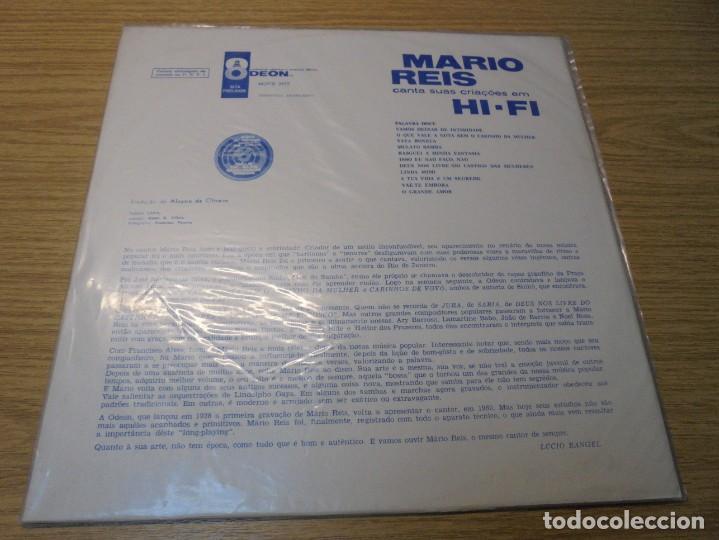 Discos de vinilo: MARIO REIS CANTA SUAS CRIACOES EM HI-FI. LP VINILO. DISCOGRAFICA ODEON. - Foto 8 - 267084679