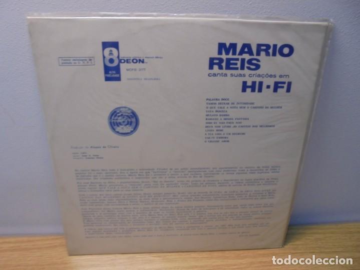 Discos de vinilo: MARIO REIS CANTA SUAS CRIACOES EM HI-FI. LP VINILO. DISCOGRAFICA ODEON. - Foto 9 - 267084679