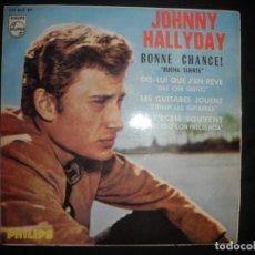 Dischi in vinile: JOHNNY HALLYDAY BONNE CHANCE. Lote 267095194