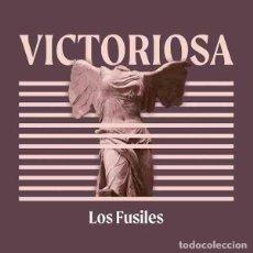 Disques de vinyle: LOS FUSILES VICTORIOSA (LP) . VINILO ROCK AND ROLL GARAGE PUNK BURNING THE CLASH. Lote 267097874