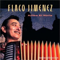 Discos de vinilo: FLACO JIMENEZ * ARRIBA EL NORTE * LP VINILO * USA CANADÁ 1989 * ULTRARARE PRECINTADO. Lote 267097989