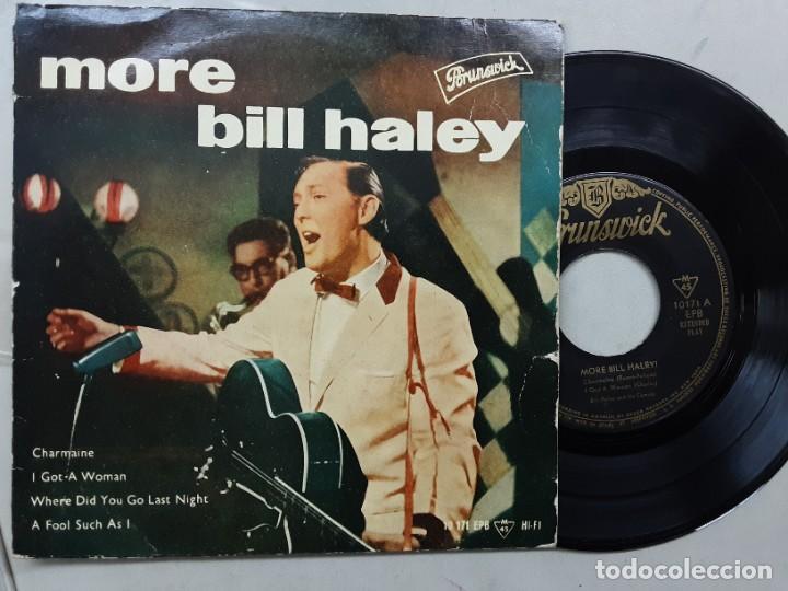 EP BILL HALEY & HIS COMETS, CHARMAINE, I GOT A WOMAN, A FOOL SUCH AS I +1 (Música - Discos de Vinilo - EPs - Rock & Roll)